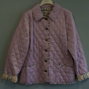 NWT BURBERRY LONDON women's coats jackets PINK